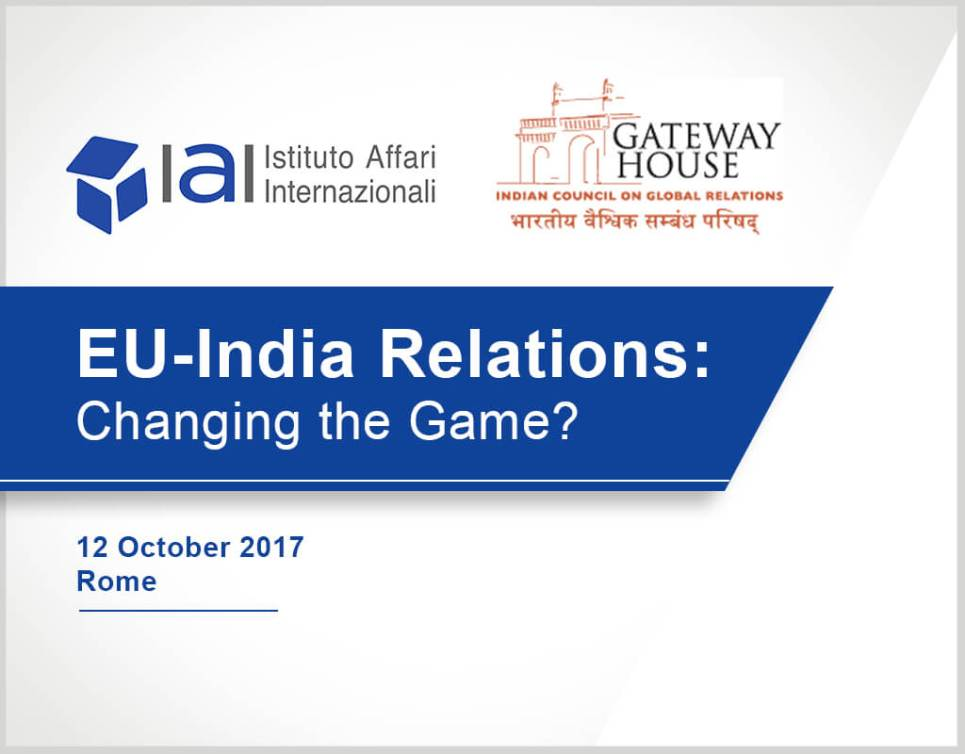 EU India Relations changing the game?