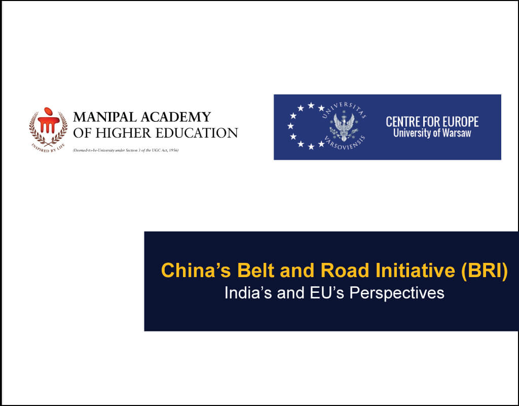 China's-Belt-and-Road-Initiative-(BRI) - Manipal academy of higher education and Centre for Europe, Poland