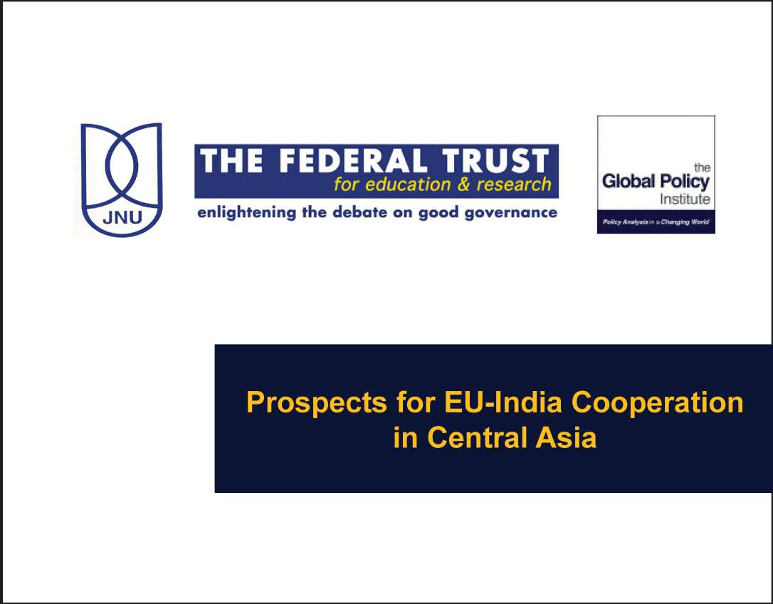 Prospects for EU-India Cooperation