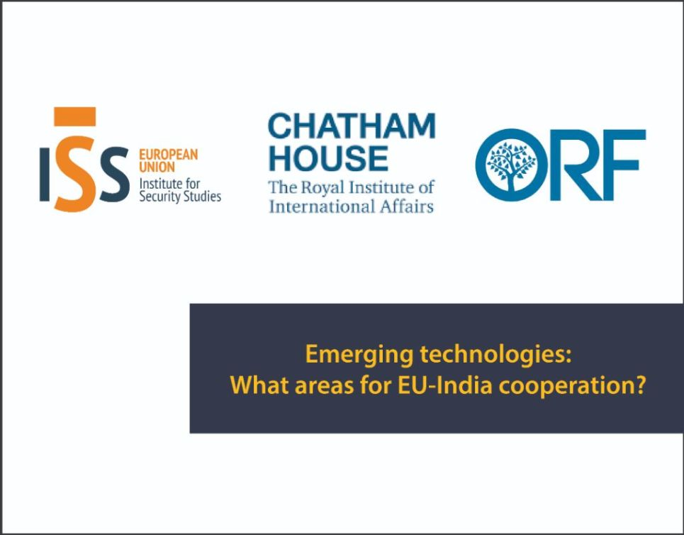 Emerging technologies - What areas for EU-India cooperation