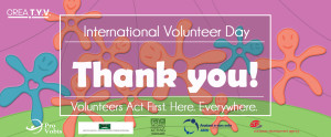 Happy International Volunteer Day
