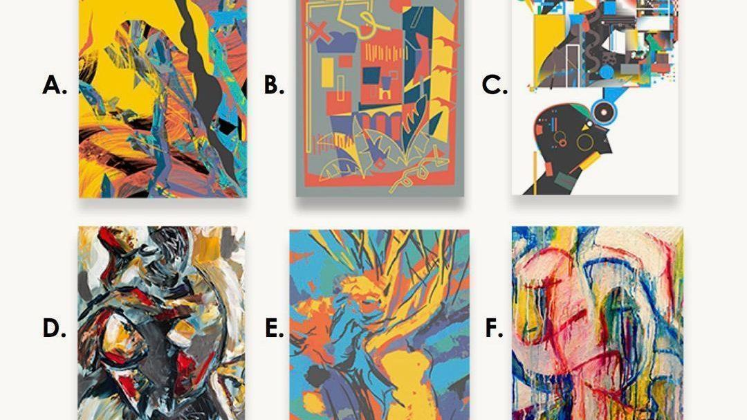 ¿Serías capaz de detectar cuál es la obra de arte pintada por un robot?