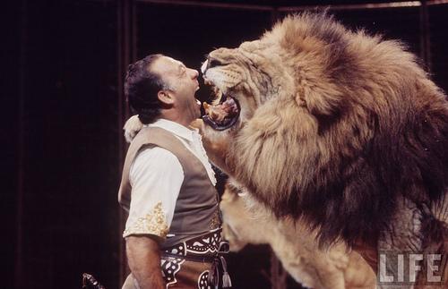 Foto del día: Pablo Noel, antaño una gran estrella de circo