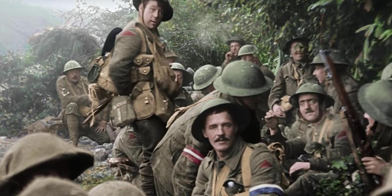 "Primer avance de ""They Shall Not Grow Old"" el documental de Peter Jackson sobre la 1ª Guerra Mundial"