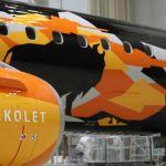 Una compañía aérea convierte un avión en un tanque