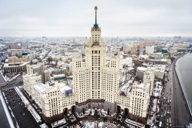 Recorrido por los edificios soviéticos