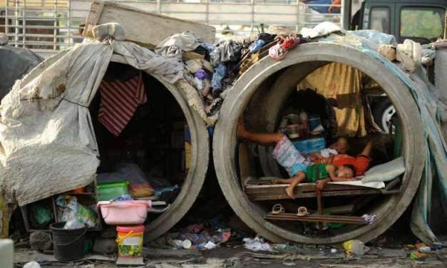 Infografía del día: países donde la gente vive en extrema pobreza