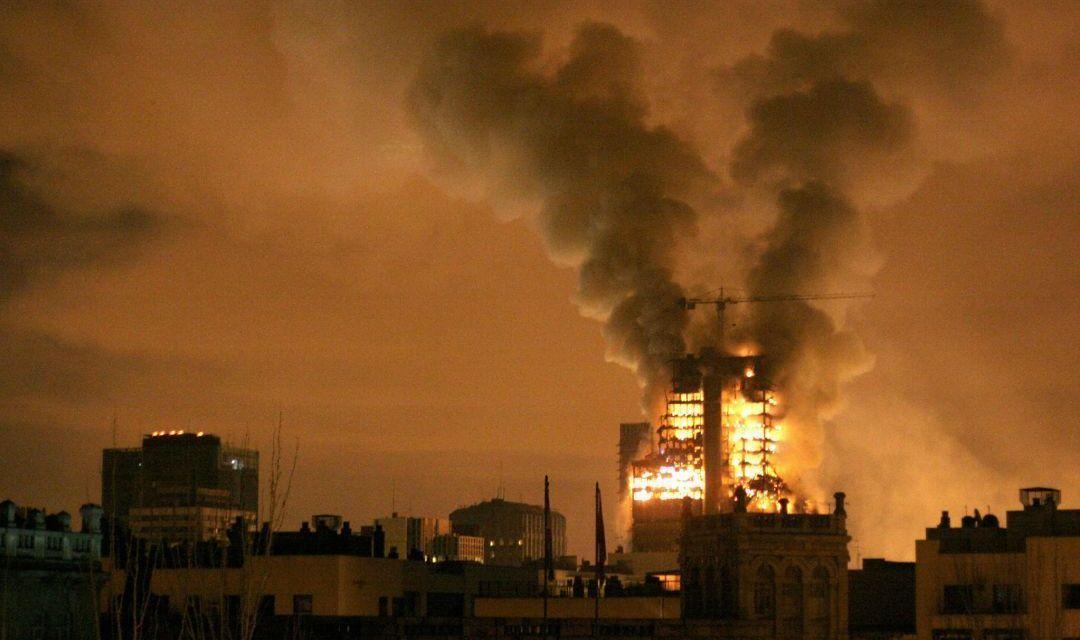 Las hipótesis tras el incendio de la Torre Windsor
