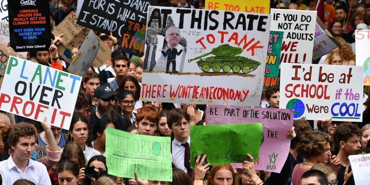 Las nuevas generaciones se mueven contra el cambio climático #15MClimático