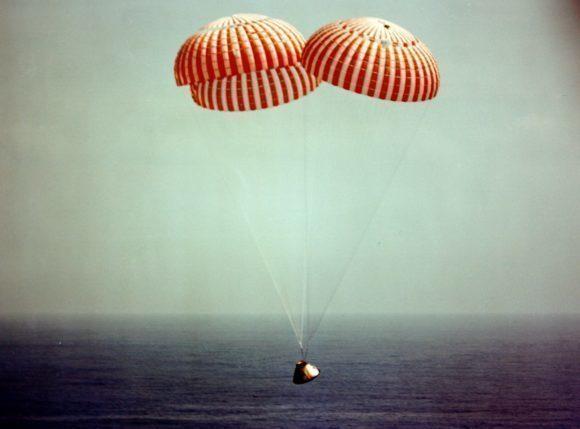 FOTO DEL DÍA: 50 años desde que la misión Apolo 9 regresó a la Tierra