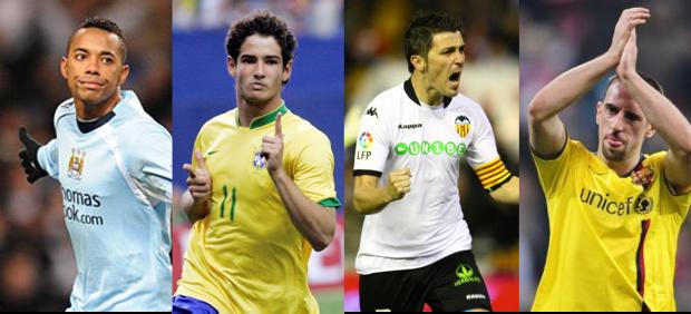 Robinho-Pato-Villa-Ribery