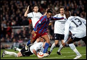 Barça vs. Chelsea: Ronaldinho