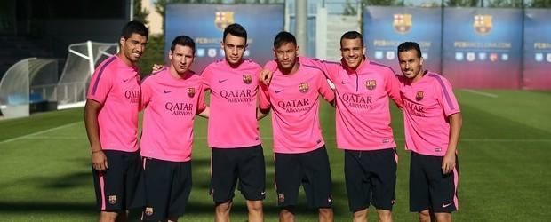 delantera Barça