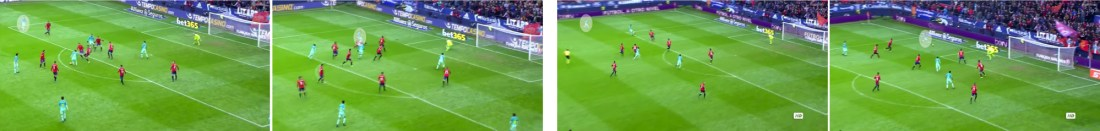 La profundidad de Jordi Alba al espacio, clave para la victoria. (click sobre la imagen para ampliar)