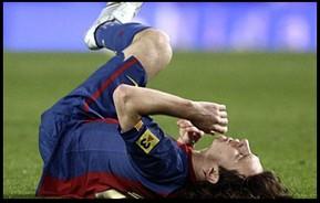 Messi lesionat
