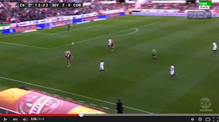 Aleix Vidal para abrir el abanico | Dificultades defensivas a su espalda