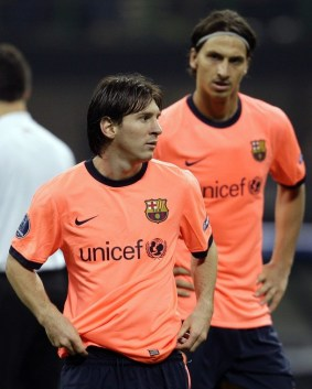Messi-Ibra