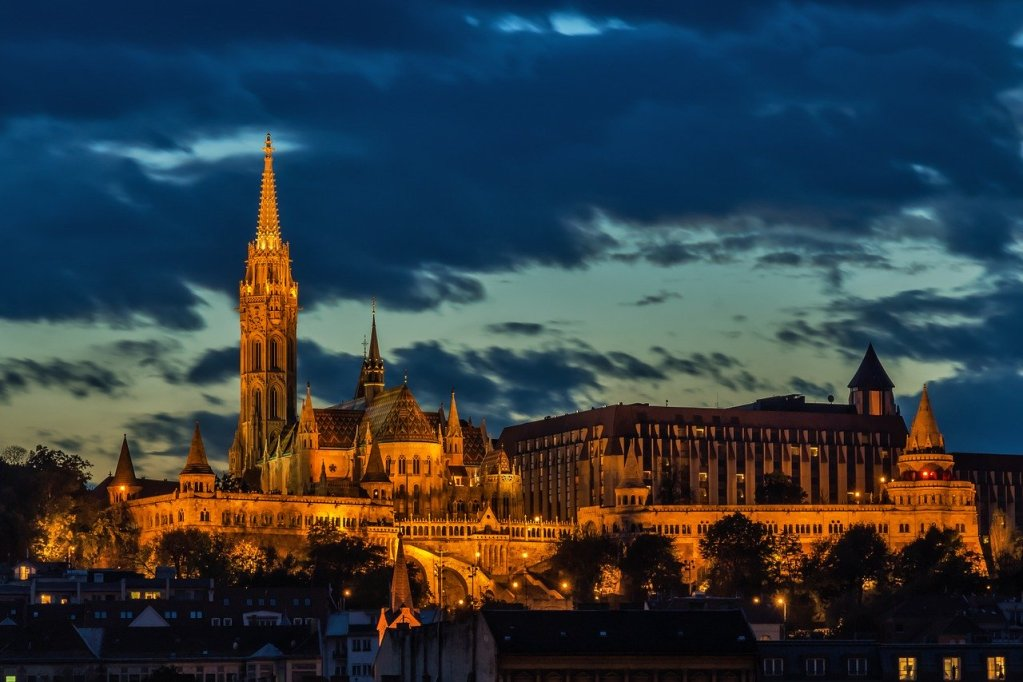 budapest, church, architecture