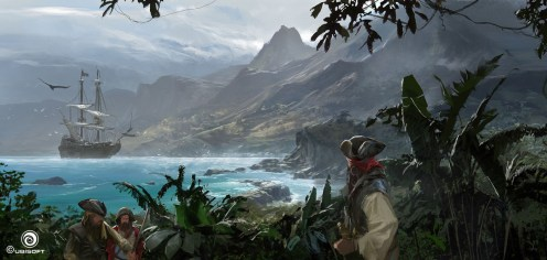 Assassin's Creed 4: Black Flag Concept Art