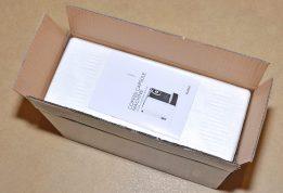 VonShef 1250w Nespresso Compatible Coffee Pod Machine - Product box open.