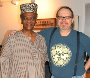 Sudanese singer/songwriter/arranger Yousif Elmosley and Euphonic's Bill Niemi