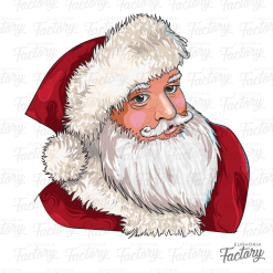 Santa Illustration