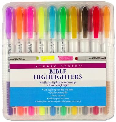 Bible Highlighters 10-Pack
