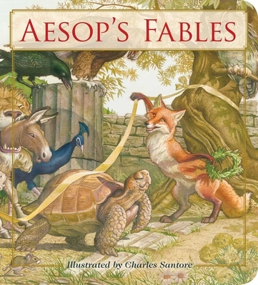 Aesop's Fables Oversized Padded Board Book: The Classic Edition