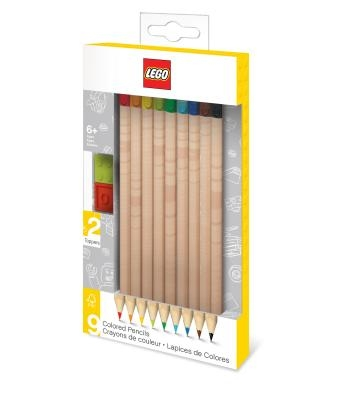 Lego 9 Pack Colored Pencils
