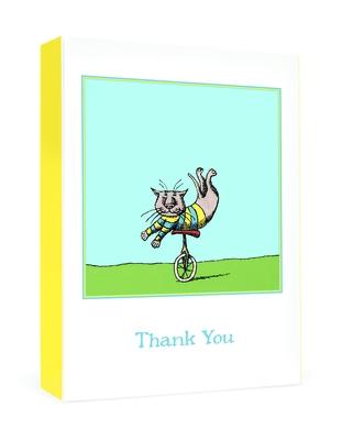 Edward Gorey: Unicycle Cat Boxed Thank You Notes