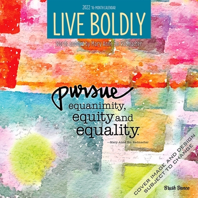 Live Boldly 2022 Square