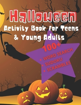 Halloween Activity Book For Teens & Young Adults: A Fall Festival Puzzle Book