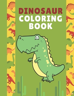 dinosaur coloring book for kids 3-8: Dinosaur Coloring Book for Kids - Ages 2-4, 4-8 - A Dinosaur Activity Book Adventure for Boys & Girls Coloring, a