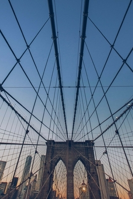 Composition Book: Brooklyn Bridge: 140 Page 6x9 Composition Notebook Diary