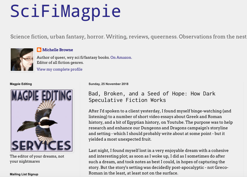 SciFi Magpie Screen Shot 2018-11-27 at 15.12.37