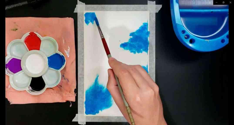 como pintar galáxias 2