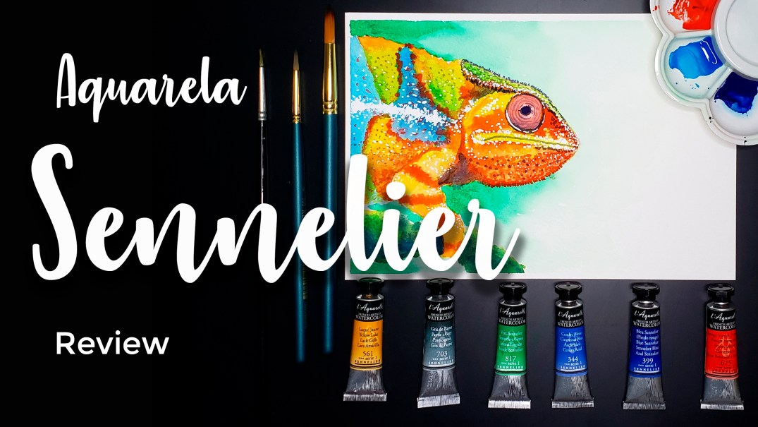 Aquarela Sennelier - Review