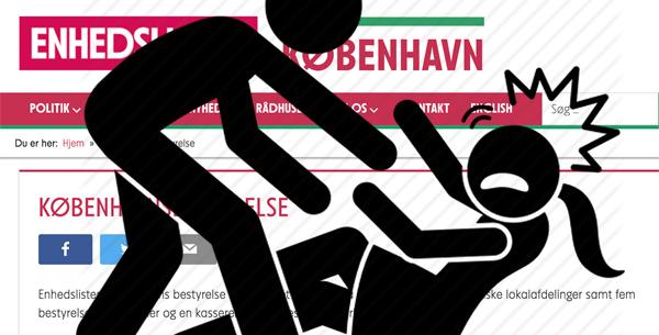 Bestyrelsesmedlem i Enhedslisten København fratræder alle poster: 'Indblandet i voldtægtssag'