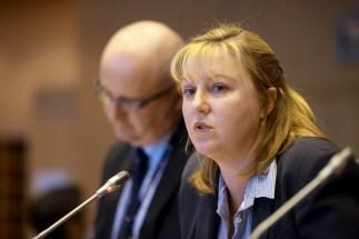 MEP Bogdan MARCINKIEWICZ and Gina DOWNES, Chief Advisor - Environmental Economics, Eskom