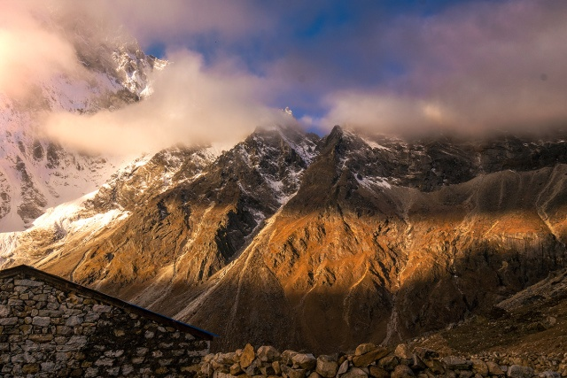 Through The High Himalayan Tundra