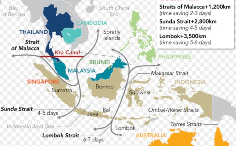 If built, the Thai canal would necessarily shift Asia's maritime strategic dynamics by bypassing Malacca, one of the US' chief strategic advantages vis-à-vis China at sea