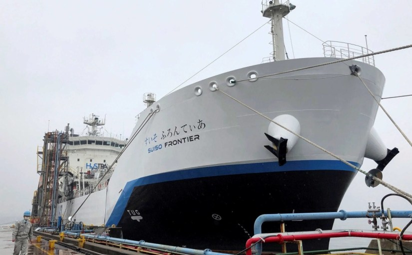 Race is on to pioneer shipping of hydrogen