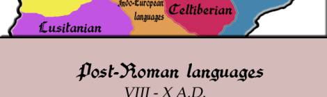 Iberian peninsula: Pre- & Post-Roman languages