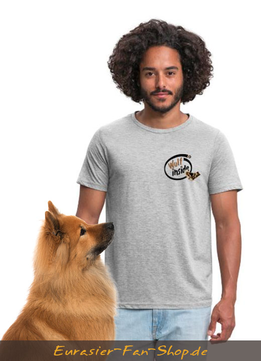 Eurasier T-Shirt für Männer - Wulf inside