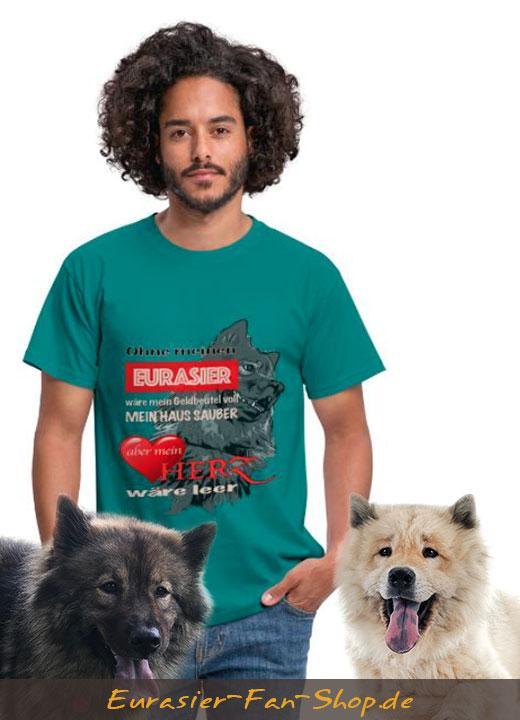 Eurasier T-Shirt für Männer