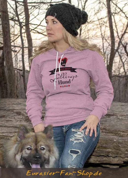 Eurasier Hoodie-Pulli - Lieblingshund