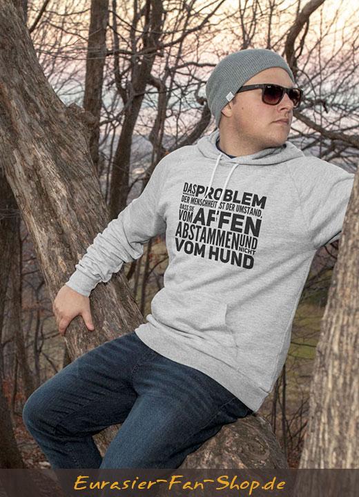 Eurasier Hoodie-Pulli - Problem der Menschheit