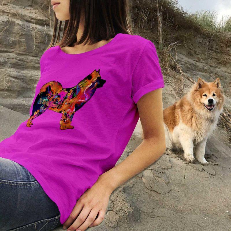 Psychodelic Eurasier T-Shirt Women