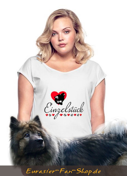 Eurasier-T-Shirt-Frauen