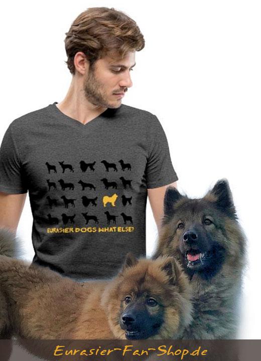 Eurasier-T-Shirt-Maenner